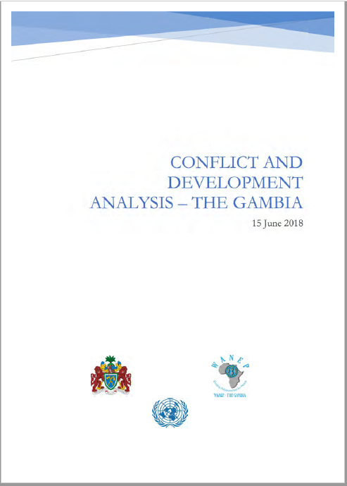 CONFLICT AND DEVELOPMENT ANALYSIS – THE GAMBIA 15 June 201