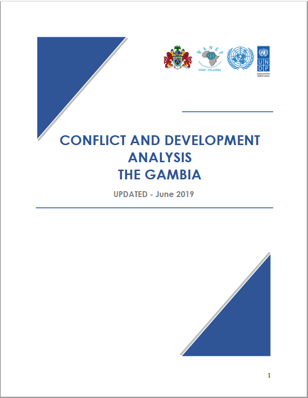 CONFLICT AND DEVELOPMENT ANALYSIS THE GAMBIA UPDATED - June 2019